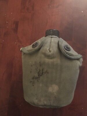 WWII US Army Canteen and Cover