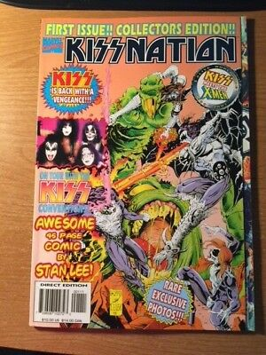 Kissnation One Shot 1999 First Issue Collectors Edition