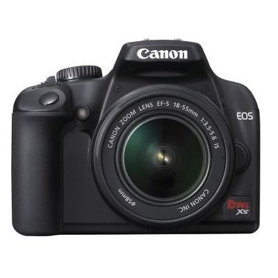 Canon EOS Rebel XS 10MP DSLR Camera with 18-55mm Lens Kit 2762B003 FREE SHIPPING