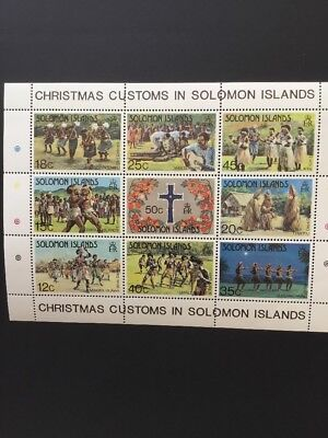 Stamps From Solomon Islands 1 MNH Mini Sheet