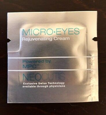 Micro eyes 0.03 fl oz samples lot of 60 expires 07/2019