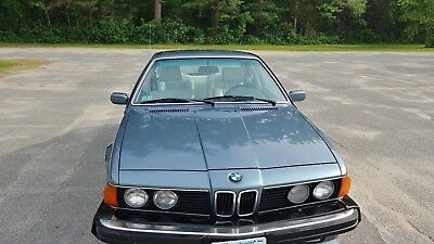 1987 Bmw M6  1987 Bmw L6 - Yes L6!! 1 Year Import Only -  Baby Bro To M6 !!  - No Reserve..