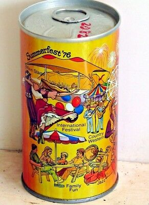 Graf's Root Beer; Graf's Beverages, Inc.; Milwaukee, WI; steel soda pop can