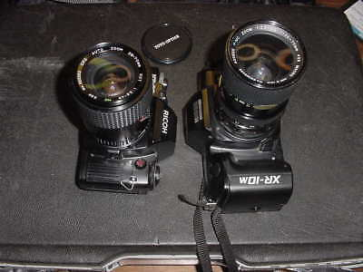 2 - RICOH - KR-30sp & XR-10M with 35 - 70mm Macro ZOOM &  28 - 70mm Auto ZOOM