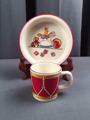 """Tiffany & Co. """"Toys"""" Child's Bowl & Cup"""
