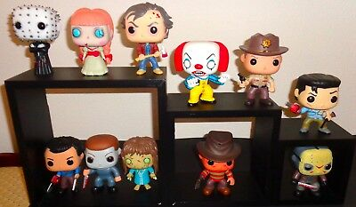 11 Pc Horror Movie Funko Pop Pennywise Pinhead Jason Michael Myers Shining More