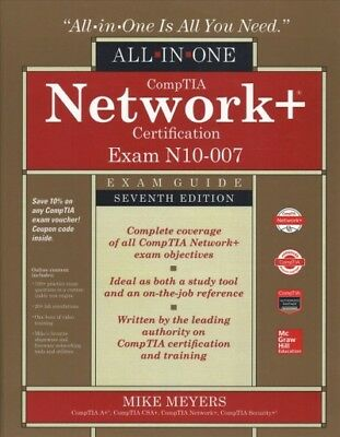 Comptia Network+ Certification Exam Guide (Exam N10-007), Hardcover by Meyers...
