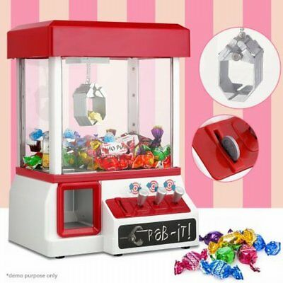 NEW Bench Top Kids/Adults Carnival Style Arcade Claw Candy Grabber Prize Machine