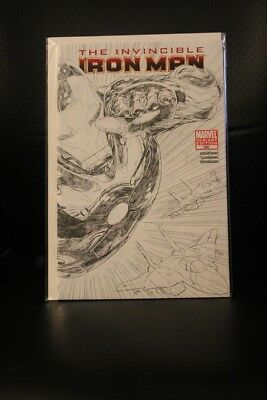 The Invincible Iron Man #500 Sketch Variant