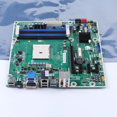 MSI MS-7778 716188-001 Motherboard AMD A75 Socket FM2 DDR3 mATX DVI VGA
