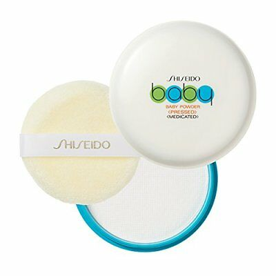 H&B F/S From JAPAN Shiseido Baby Powder (pressed) 50g with Soft Puff SB