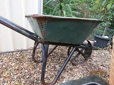 Antique wheelbarrow perfect for a centrepiece in the garden