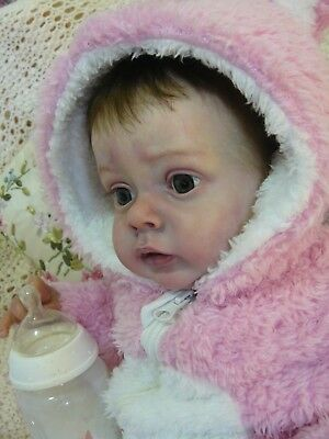 "BEAUTIFUL BABY ""CHLOE"" Limited edition ART DOLL by Russian artist!!! STUNNING!!!"