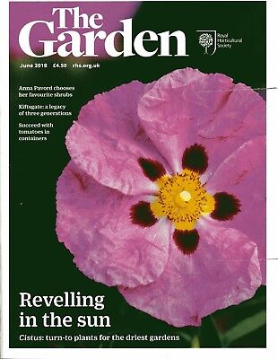 The Garden Magazine of the RHS. June 2018. 122 pages.