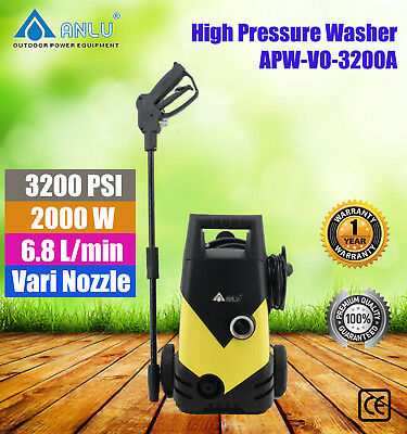 Anlu Electric High Pressure Water Cleaner Washer APW-VO-3200  3200PSI