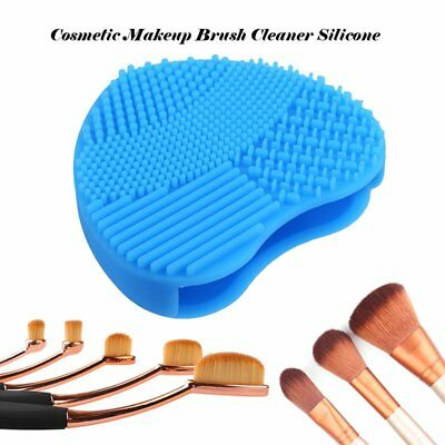 Silicone Makeup Brush Cleaner Washing Maquillaje Pinceles Cleaning Mat Pad Heart