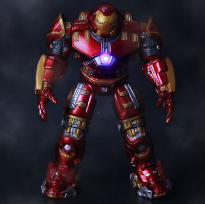 "7"" Action Figure Marvel Avengers 2 Age of Ultron IRON MAN HULK BUSTER Toy Gift"