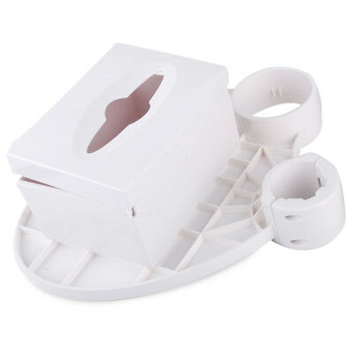 Disposable Dental Chair Cup Storage Holder Post Mounted Tray Three in One Shelf