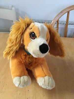 Disney Store Large Lady And The Tramp Lady Plush Toy