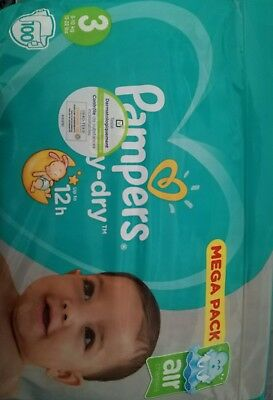 couches pampers taille 3