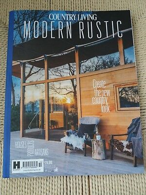 COUNTRY LIVING UK Modern Rustic Magazine Issue #10 NEW