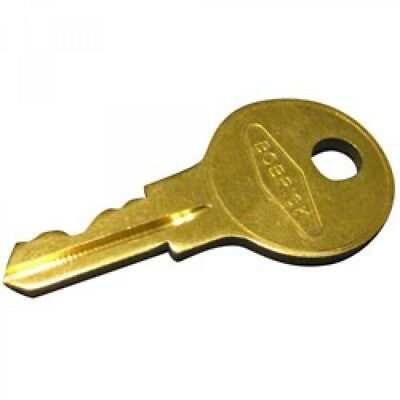 2 keys Bobrick Cat 74 Key for Towel Dispensers, Metal Key - BOB 330-43