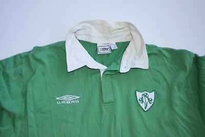 Ireland  Rugby Union Jersey  - Old Umbro  Gear XXL - Mens - Rare