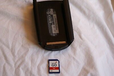 Compaq Ipaq H3600 Series Expansion Sleeve And Tom Tom Card Very Good Condition