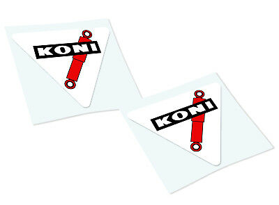 KONI SHOCK ABSORBERS Classic Retro Car Motorcycle Decals Stickers