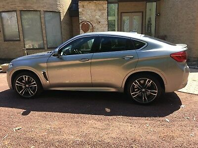 2017 BMW X6 M -Executive & Drive Assist Package 2017 BMW X6 M Twin Turbo V-8 32 Valve Engine - 567 Horsepower