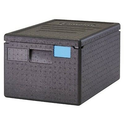Cambro EPP180SW110 Cam GoBox Top-Loader Food Pan Carrier, Black Pack of 1