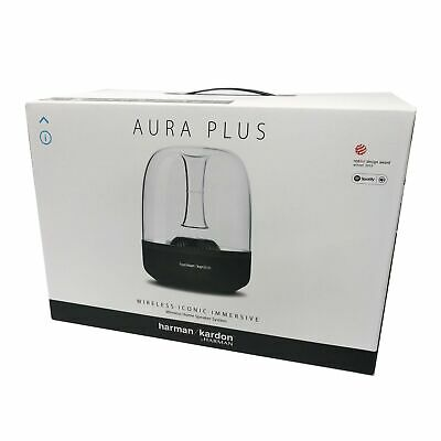 Brand New Harman Kardon Aura Plus Luxury Airplay Wireless Bluetooth Speaker