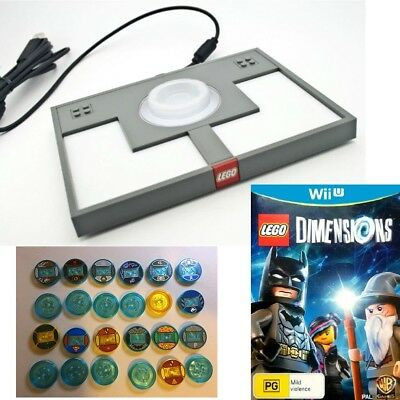 LEGO Dimensions Portal Base + 24 Playable Characters (Incomplete) Wii U Game