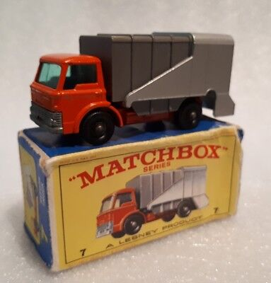 Matchbox Regular Wheels 7 Refuse Truck