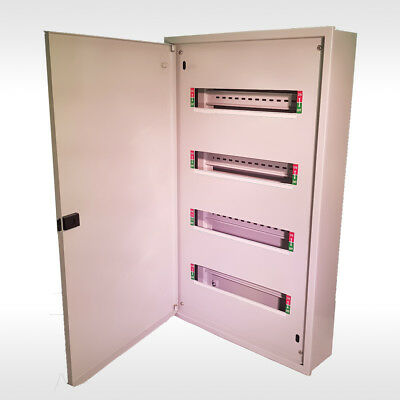 Steel Enclosure SwitchBoard-Distribution Box-Dinrail 48 Pole- MCB RCD