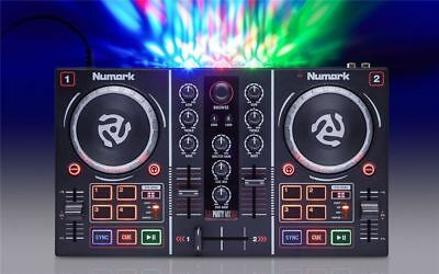 Numark - Party Mix - DJ Controller with Built-In Light Show
