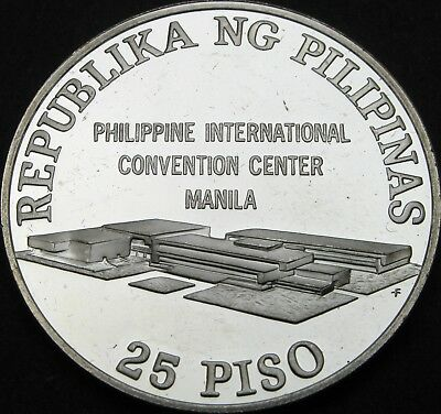 PHILIPPINES 25 Piso 1979 Proof - Silver - UN Conference - 2670 ¤