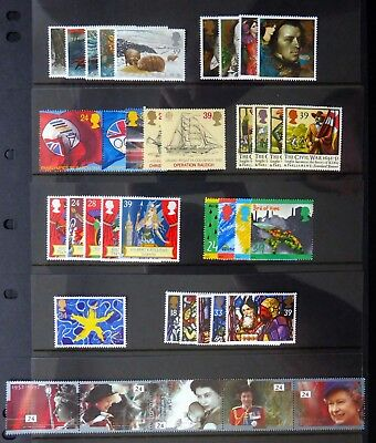 GB 1992 Commemorative Complete Year Collection 9 Sets U/M NC531
