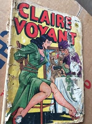 Claire Voyant #4  1947, Independent Publisher, Free Shipping