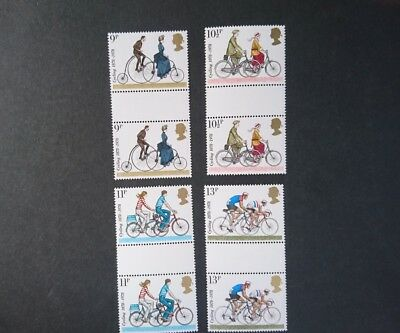 Gb U/m Commemorative Stamp  Gutter Pairs -  Cyclists -  2.8.78