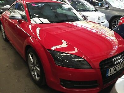 """07 Audi Tt 2.0 T-Fsi 200Bhp Coupe **red, Leather, 17"""" Alloys, Climate Control!**"""