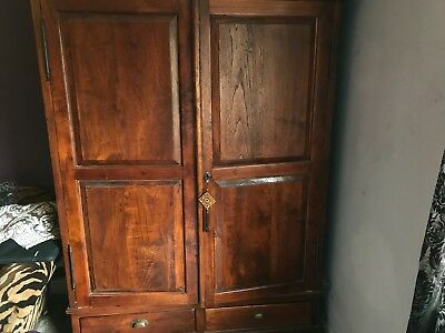 2 Teak Wardrobe in great condition...made by Raft
