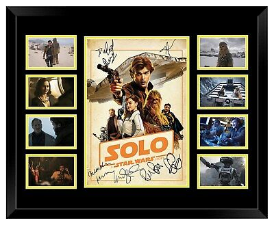 Solo: A Star Wars Story Cast Signed Limited Edition Framed Memorabilia