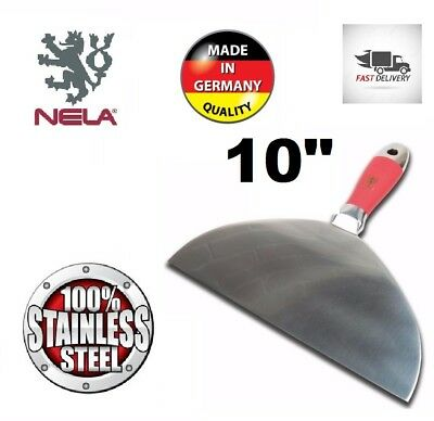 NELA Stainless Steel One Piece Forged Putty Joint Filling Knife Trowel