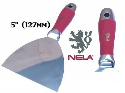 """NELA Joint Taping Knife 5"""" 127mm PUTTY& JOINT KNIFE"""