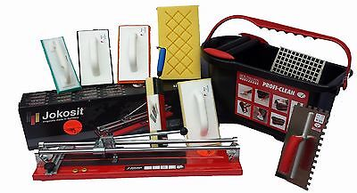 Tile Cutter 800mm Tiling Tool Kit 14Pcs Complete Tilers Kit German Products