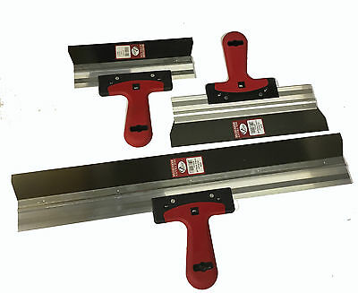 3Pc Stainless Steel Filling Knife,Drywall Taping Knife Plastering Spatula Set