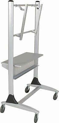 Balt - 27544 - Platinum Series Two-post Large LCD/Plasma Monitor Cart with Shelf