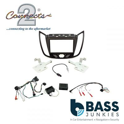 Ford Kuga 2013 Onwards Car Stereo Double Din Fascia Fitting Kit CTKFD44
