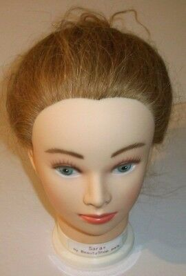 Sara Beauty Shop Pal Charlene Mannequin Head Hair Styler See Pic's